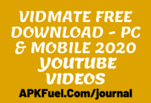 Photo of VidMate Free Download – PC & Mobile 2020
