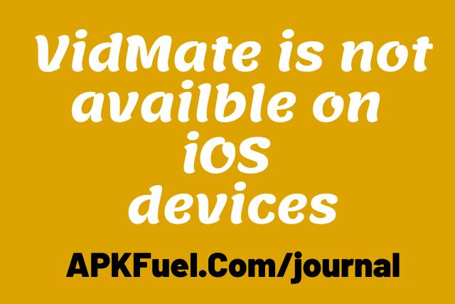 VidMate iOS