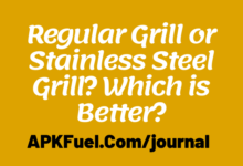 Regular Grill vs Stainless Steel Grill