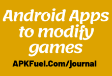 Android Apps to modify games