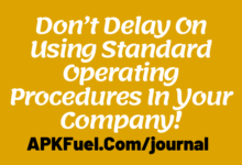 Standard Operating Procedures In Your Company