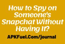 Spy on Snapchat