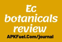 Ec botanicals review