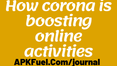 How corona is boosting online activities
