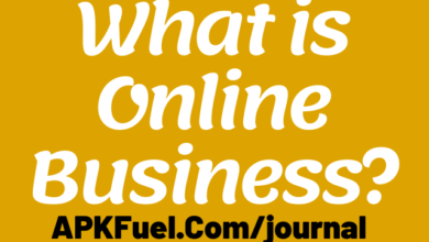 What is Online Business?