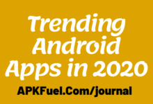 Trending Android Apps in 2020