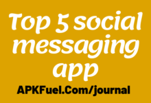 Top 5 social messaging app