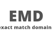 What are Exact Match Domain?