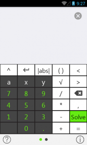 Tiger — Algebra & Maths Solver with Solution 1