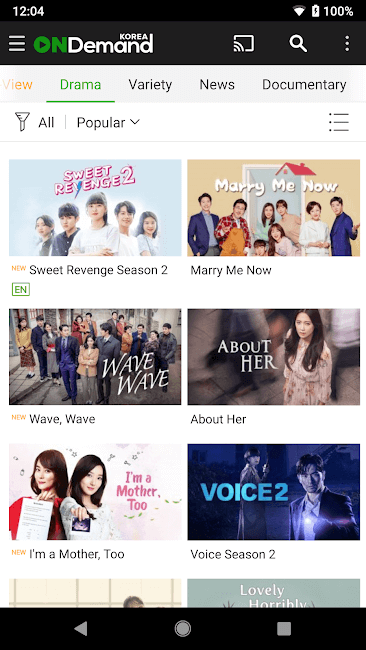 OnDemandKorea for Android – Apk Download 4