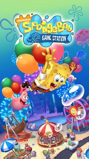 SpongeBob Game Station 1