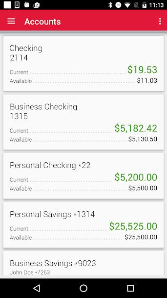 Meritrust CU Mobile Banking 1