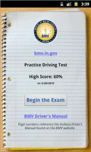 myBMV Driving Test Practice 1