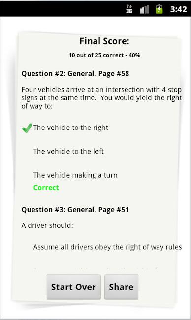 myBMV Driving Test Practice 4