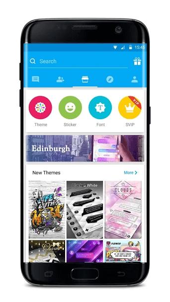 GO SMS Pro – Messenger, Free Themes, Emoji 6