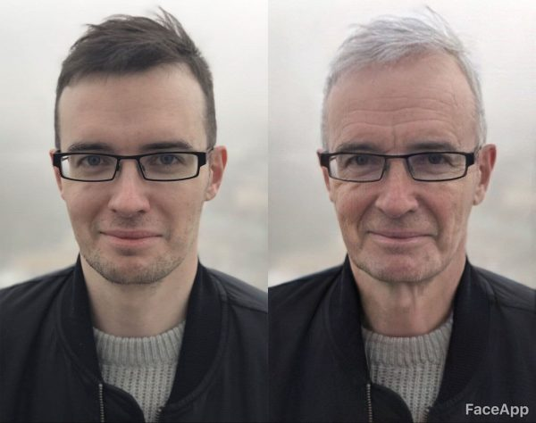 faceapp age transformation