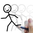 Stickman: draw animation, creator & maker, drawing